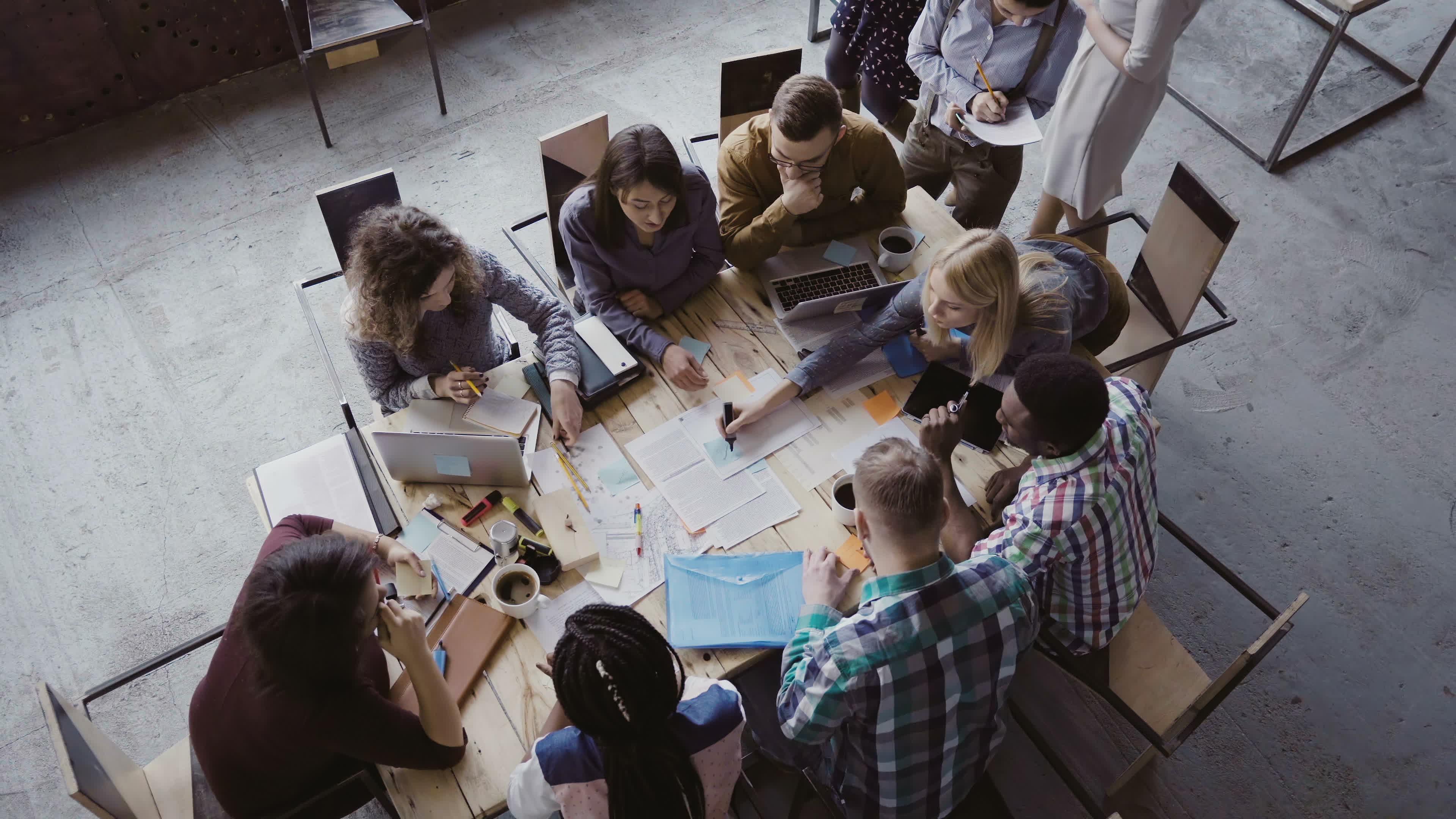 La créativité et le sens des responsabilités des cadres