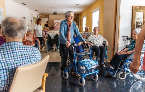 Projet de vie des résidents en EHPAD