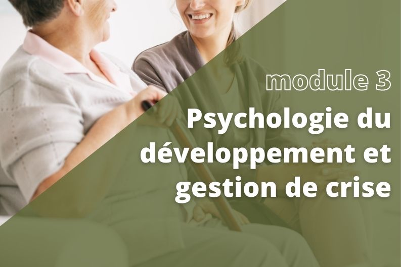Introduction à la psychologie du développement et gestion de crise